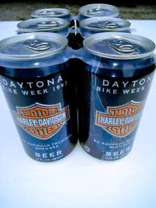 Bières Harley Davidson Daytona bike week 1997