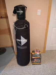Century Boxing Gear: Heavy Bag, Headache Bag, Wrap Gloves