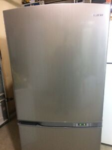 stainless look large fridge $600