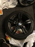 4 wheels bmw model with tires for sale
