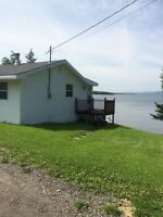 Cottage in Little Narrows ( Directly on the Bras D'or Lakes )