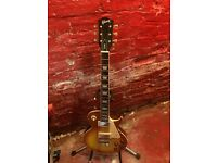 Gibson Les Paul Custom Copy Guitar. Chord with Gibson Decals. Full Gloss Honeyburst