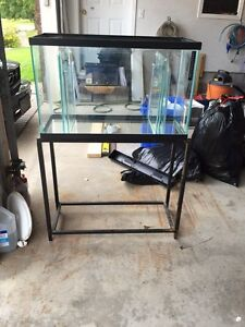30 gallon tank and stand