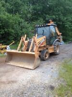 Excavations, gravel work, land clearing, drains & more