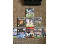 (12gb) PlayStation 3 with 9 games