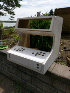 2 players arcade cabinet