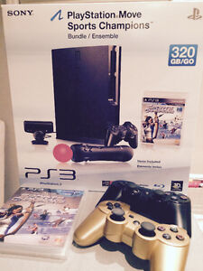 PS3 console avec 3 MANETTES dual shock!! *LOWERED PRICE*