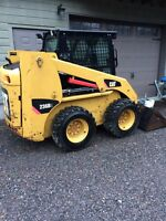 2008 CAT 236 b2 full cab and heater 1575hours