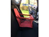 2 Folding Small Dog/Cat folding travel car seat