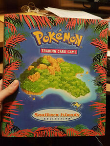Pokemon Southern Islands Binder Wizards of the Coast