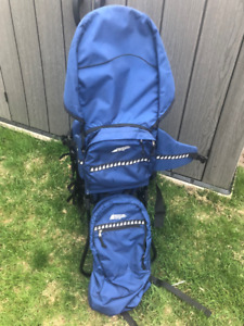 Mec Back Pack for Hiking and Baby Bjorn for walking