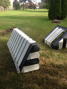 2 piece aluminium awnings