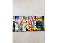 Star Wars / Empire Strikes Back classic old comics
