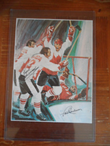 1972 CANADA/RUSSIA AUTOGRAPHED