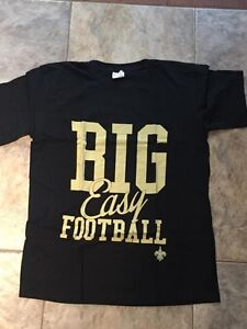 New Orleans Saints Big Easy NFL Football Bud Light T Shirt