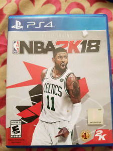 Nba 2k18 for sale Ps4