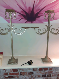 Pair of lovely candles holders