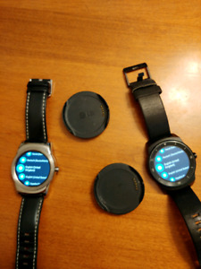Lg Smart watches.  Android wear OS