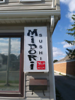 Midori Sushi looking for part-time server