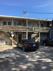 clean,  convenient and private 3 bedroom apartment on Wyndotte