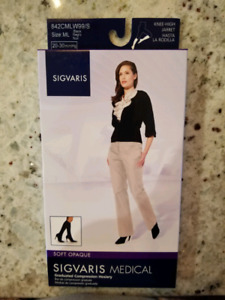 AUTHENTIC SIGVARIS COMPRESSION SUPPORT STOCKINGS