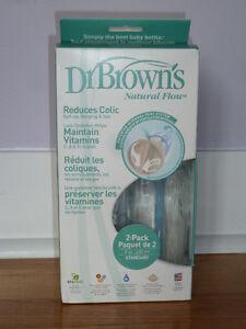 Dr. Brown's Glass Bottles - Bouteilles en verre Dr. Brown's