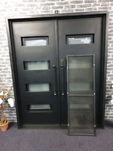 Clearance Metal Steel Door Punchbowl Canterbury Area Preview