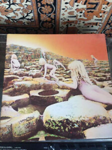 Vinyl records, original LPS Pink floyd, Zeppelin, etc