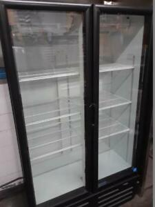 Double door Cooler on Sale - Swing glass door fridge (Brand new condition)