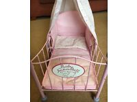 Baby Annabel doll's cot