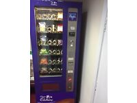 Cadbury Fully Function Vending Machine