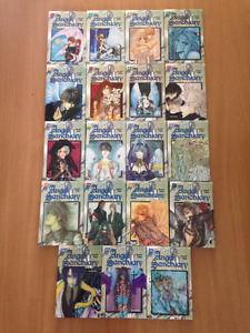 Complete French Angel Sanctuary Mangas (only missing vl 4)