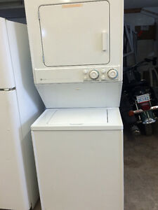 Maytag stackable washer dryer