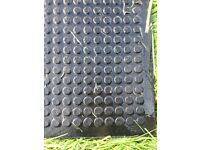 Rubber stable matting X 6 mats heavy duty double sided