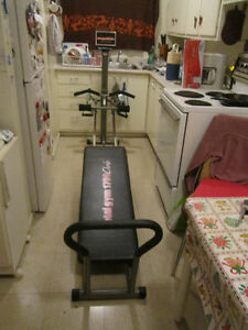 FOR SALE: TOTAL GYM 1700 CLUB ASKING $70.00