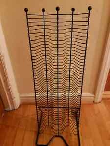 CD rack for 100 CDS--- cheap cheap cheap