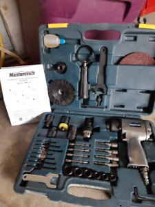Air-powered Tool kit With Accessories
