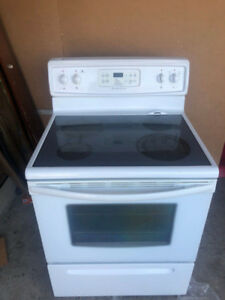 frigidaire smooth glass top stove for sale