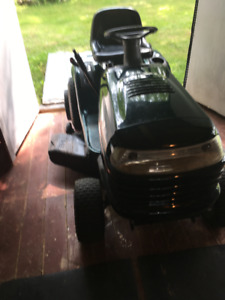 Snowblower on tractor kijiji in new brunswick buy sell save lawn tractor with lawnmower and snowblower publicscrutiny Images