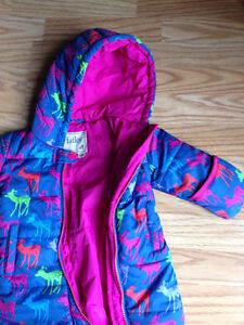 New with tags Hatley full piece Snowsuit 18-24 m
