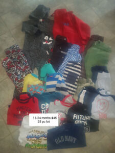 18-24 mnths clothing lot