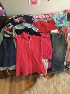Vêtements fille 6-7 ans