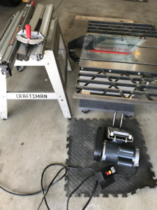 Contractor 10 inch Craftsman table saw