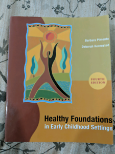 Healthy foundations in early childhood settings pdf