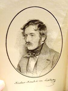 German 1900 NICOLAUS LENAU poetry RARE year Leipzig LENAUS WERKE
