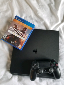 PS4 slim 500GB + Battlefield 1