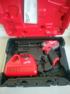 New! Milwaukee M12 Fuel Impact Driver 2553-20 (Tool+Case+Charge)