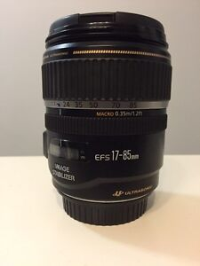 Canon EFS 17-85mm IS f4-5.6