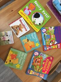 Selection of books, musical and touch