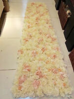 Flower mat for flower wall wedding decoration